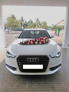 Audi A6 wedding car for rent in Kerala