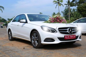 Benz Wedding Car for Rent in Kerala