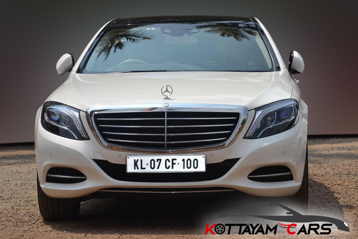 Mercedes Benz S Class Wedding Car for rent in Kerala ...