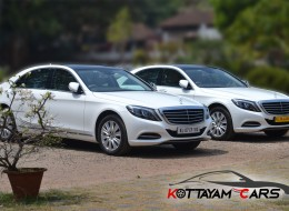Mercedes Benz S Class Wedding Car for rent in Kerala