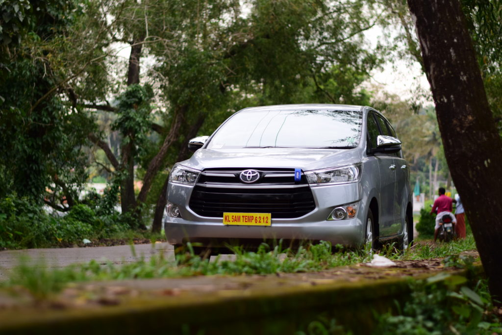 Innova Crysta Automatic for Rent in Kerala