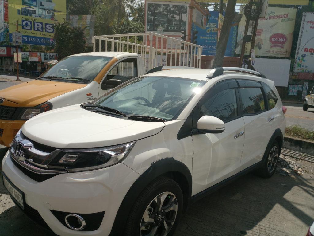 Honda BR-V Automatic Rental in Kerala