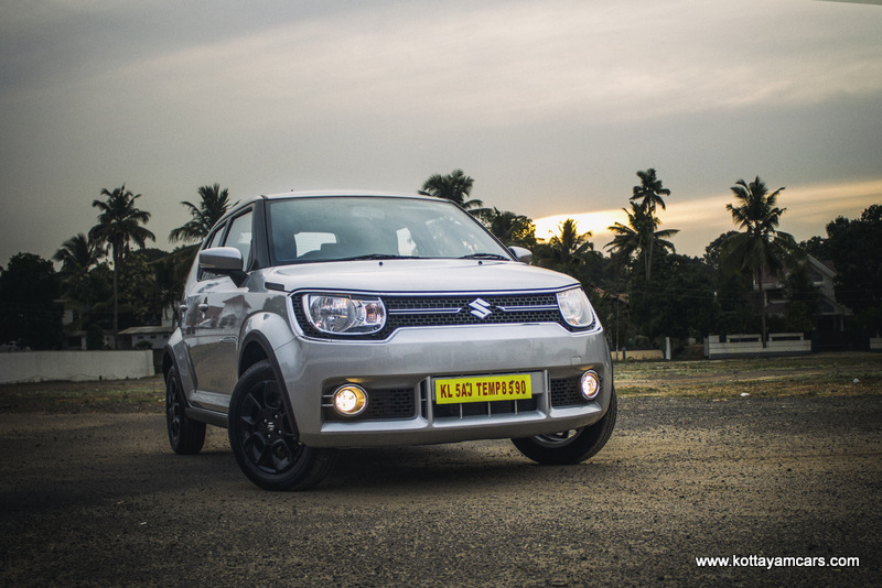 Maruti Ignis Automatic Rental in Kerala