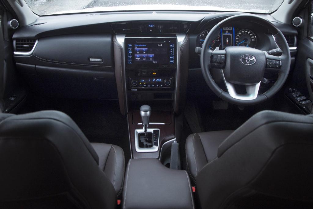 Toyota Fortuner Rental in Kerala
