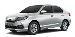 Rent Automatic Honda Amaze in Kerala